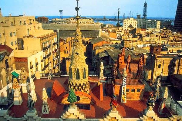 Roteiro Gaudì - palácio Güell