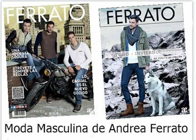 Andrea Ferrato Moda Masculina