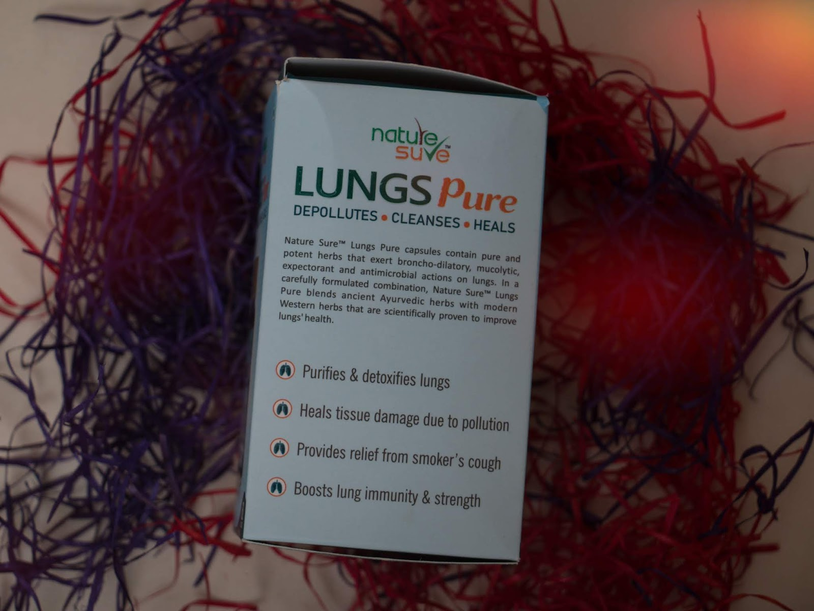 Nature Sure Lungs Capsules Features