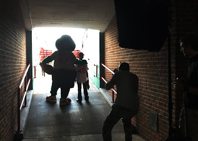 Behind the Scenes of our Fenway Park Photo Shoot!