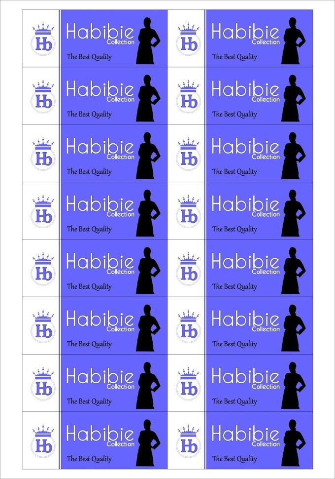 Proses Pembuatan Label Baju Habibie