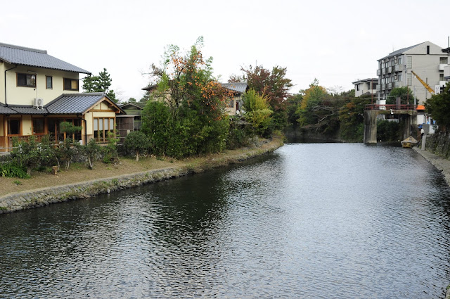 Kyoto River Scenery