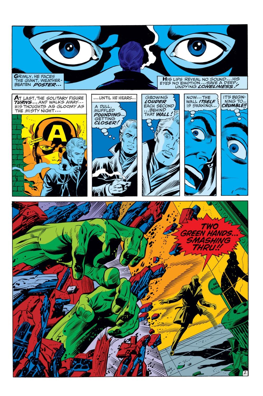 Read online Captain America (1968) comic -  Issue #110 - 3