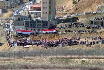 أهلنا في الجولان السوري المحتل يطالبون المنظمات الدولية بالضغط على سلطات الاحتلال لفتح المعبر