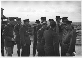 Officers of Polish Army at Camp Coetquidan, France1940