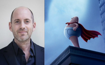 "David Soren, director of ""Captain Underpants"""