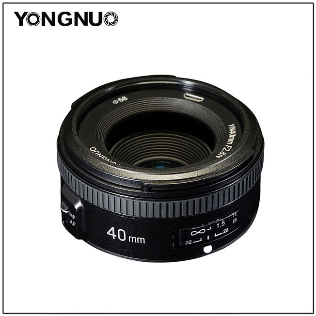 Объектив Yongnuo YN 40mm f/2.8