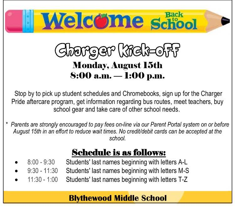 Dont Forget To Join Us For Charger Kickoff