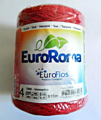 Aprender Croche Crochetando com euroroma barbante video-aulas para iniciantes passo a passo