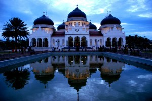 Indonesia Tourism: Baiturrahman Great Mosque of Aceh