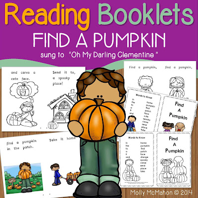 https://www.teacherspayteachers.com/Product/Reading-Booklets-FIND-A-PUMPKIN-1504958