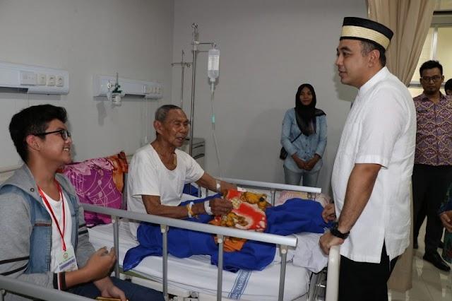 Zaki Sapa Pasien RSUD Tangerang, Agar Cepat Sembuh