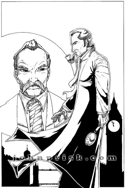 Holmes And Moriarty - John Prisk