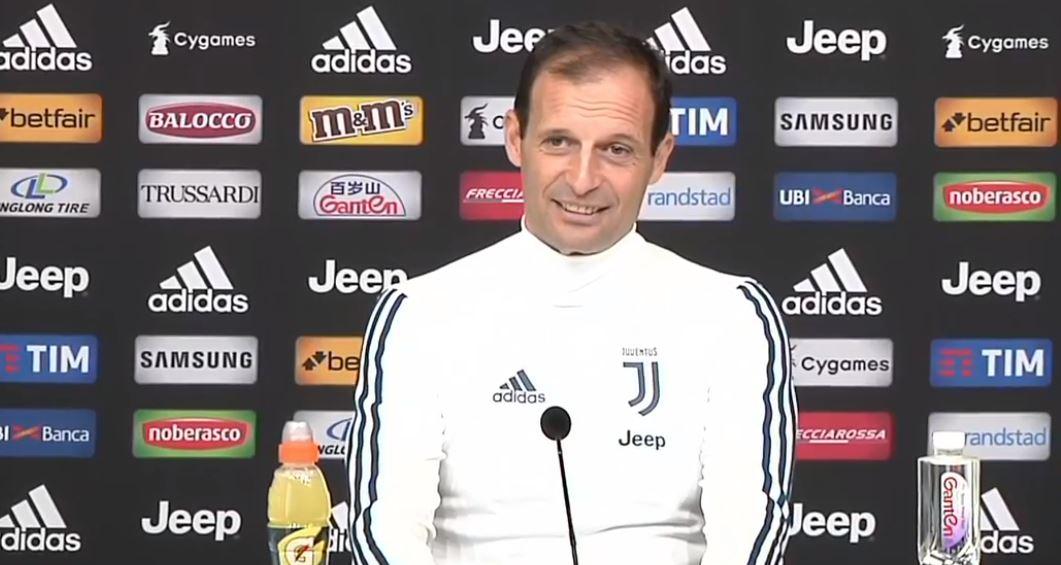 La conferenza stampa di Massimiliano Allegri pre Juventus Sampdoria