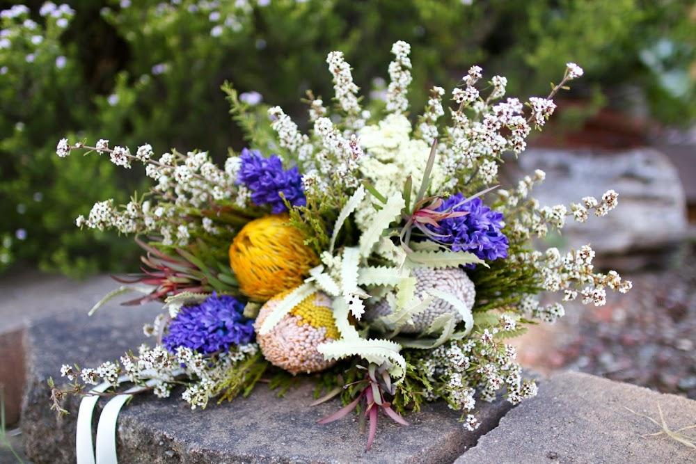 Australian Native Wedding Flower Bouquet
