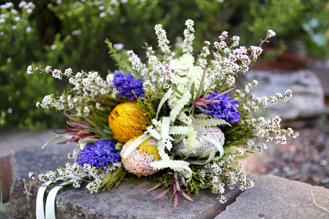 Australian Native Wedding Flower Bouquet