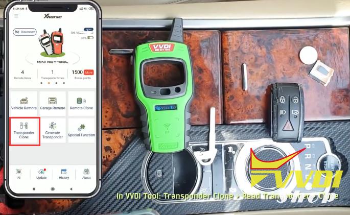 How to copy Jaguar XF key using VVDI Mini Key Tool? | Xhorse
