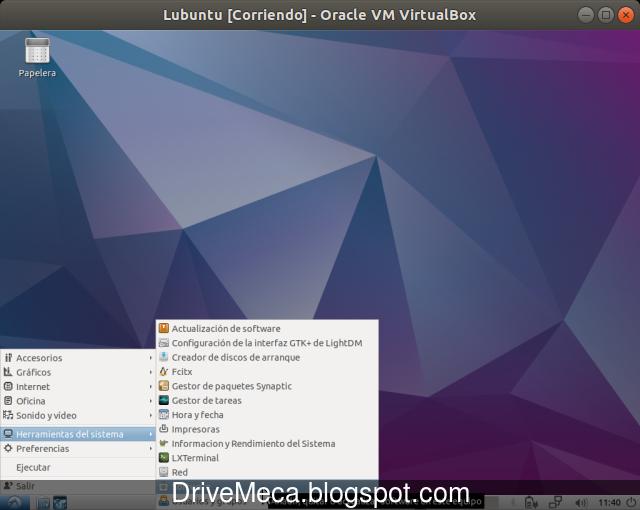 Ejecutamos la aplicacion Software para instalar programas en Lubuntu