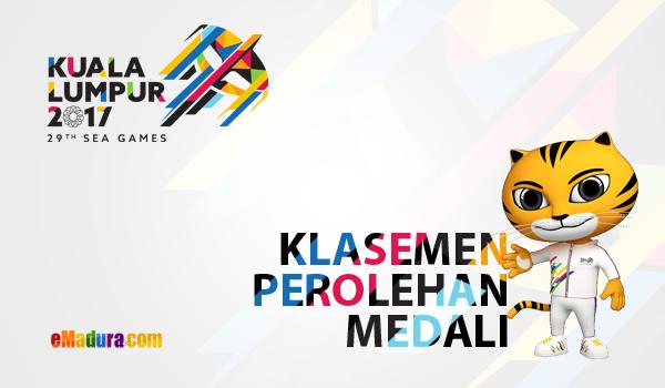 gambar perolehan medali sea games 2017 terbaru
