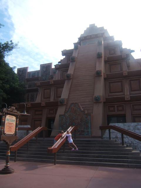Mexico pavilion at Epcot