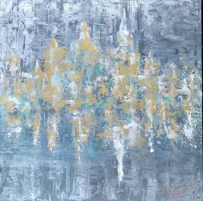 Millie Brummet | 901 MEMPHIS. | 24x24 Gallery wrap | $550