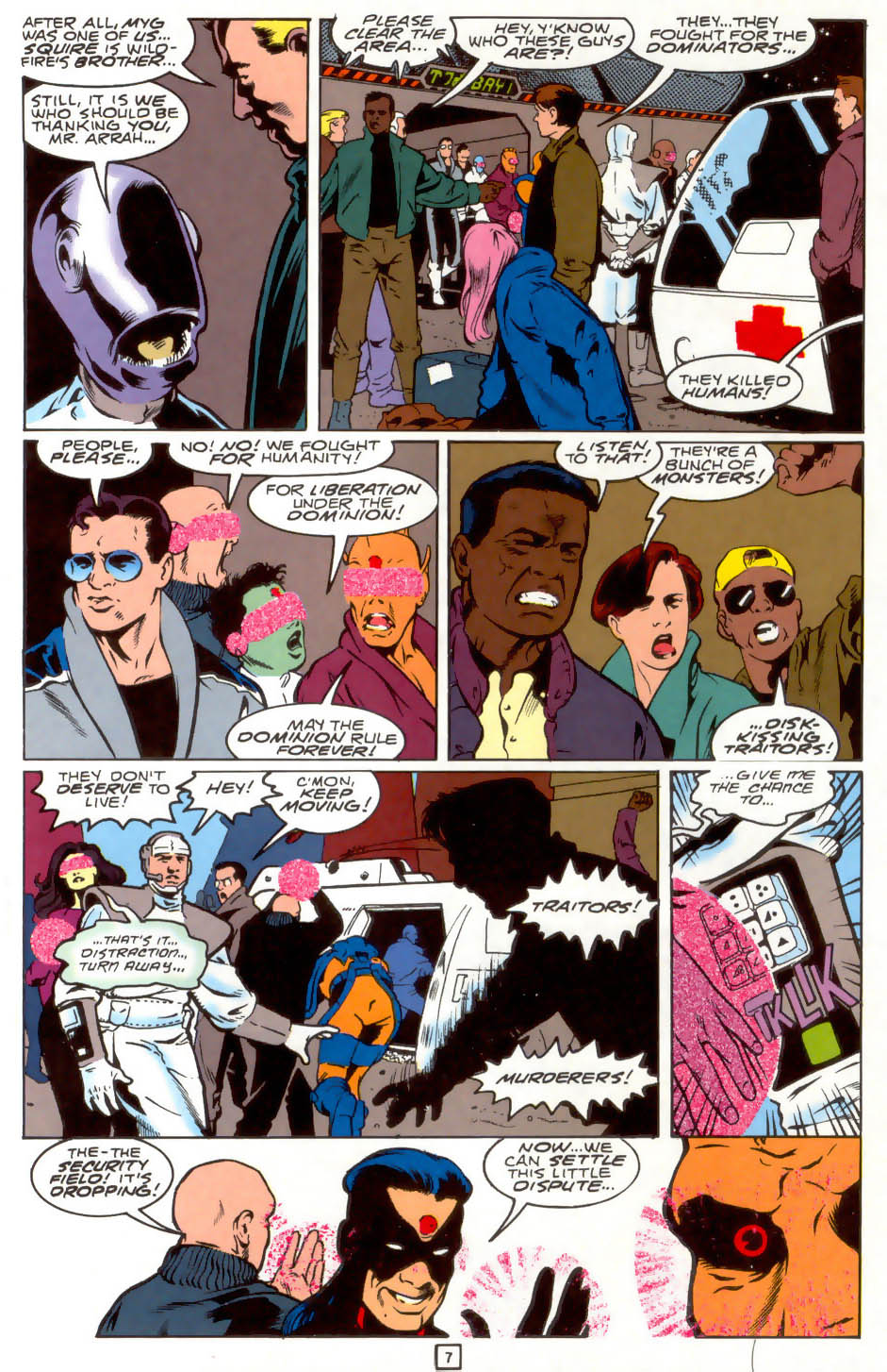Legion of Super-Heroes (1989) 40 Page 7