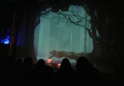Peoples Theatre - Disney Beauty and the Beast with moving images