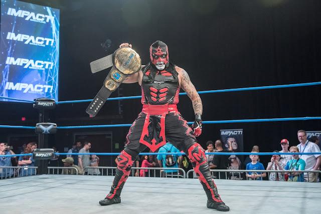 Interjú az Impact Wrestling aktuális világbajnokával Pentagon Jr.-al