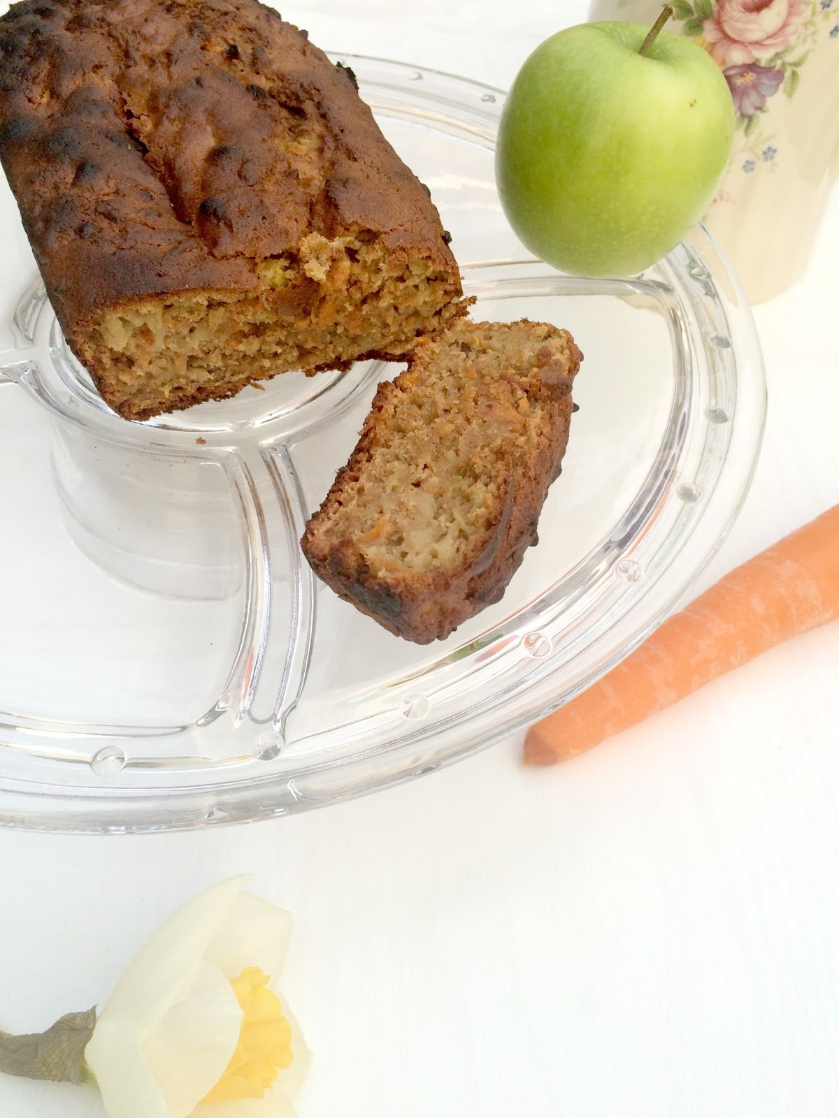 Recipe for carrot & apple loaf