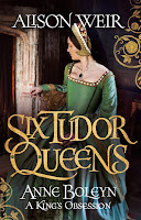 Anne Boleyn: A King's Obsession by Alison Weir cover book cover