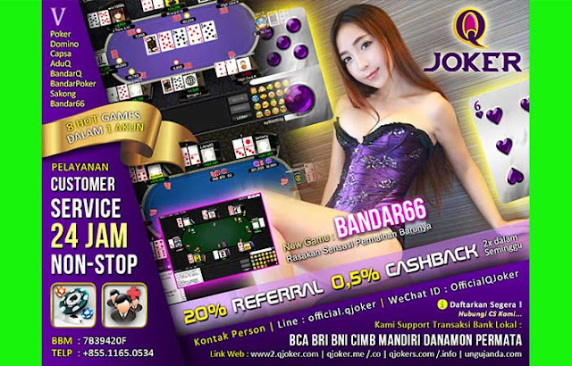 Tips Menang Judi Online Bandar Poker QJoker