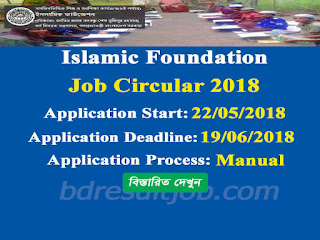 Islamic Foundation Job Circular 2018