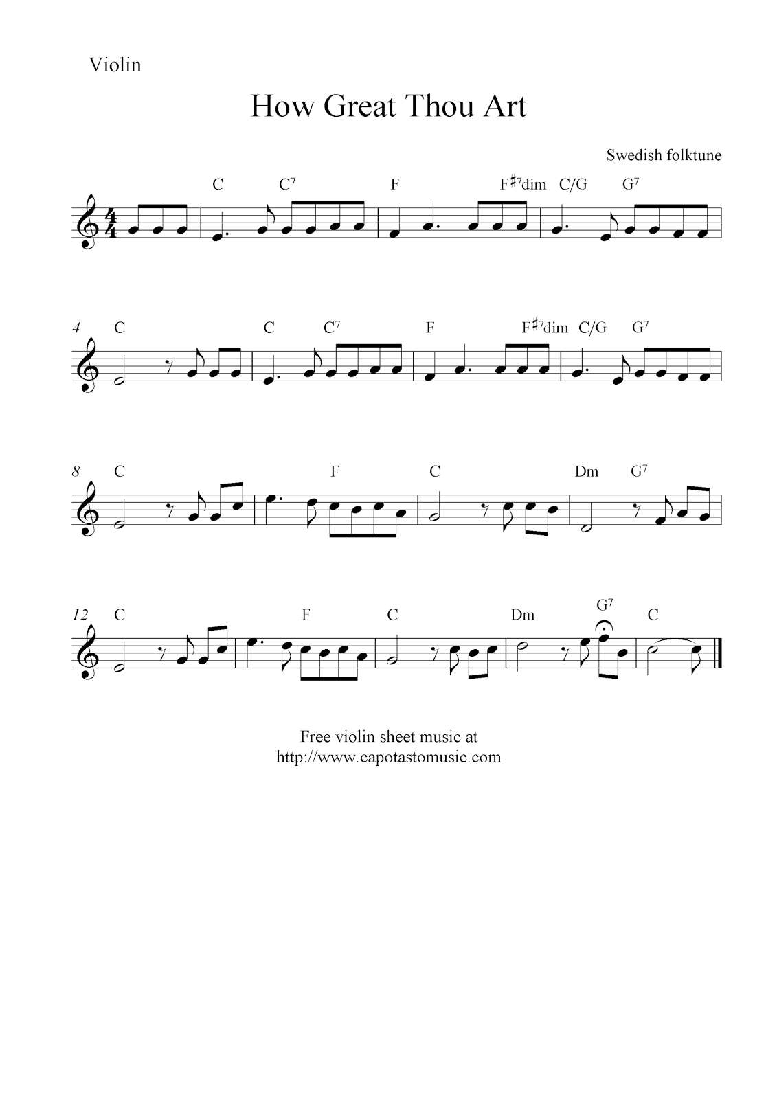 Free Sheet Music Violin Trio
