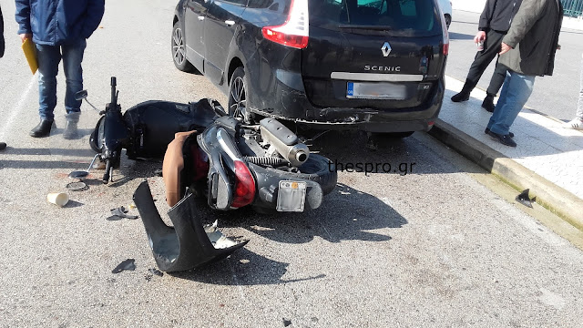 Ηγουμενίτσα: Τροχαίο ατύχημα με τραυματισμό μοτοσυκλετιστή
