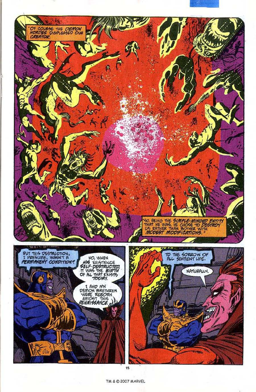 Read online Silver Surfer (1987) comic -  Issue #45 - 17