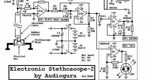 Outstanding Electronic Stethoscope Circuit The Circuit Wiring Cloud Xeiraioscosaoduqqnet