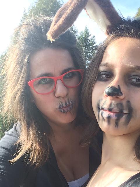 Halloween déguisement mère fille