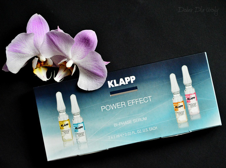 KLAPP Cosmetics POWER EFFECT Dwufazowe Bi-Phase SERUM + RETINOL