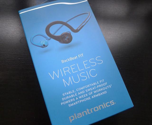Plantronics BackBeat FIT (2014) - Blue