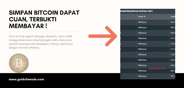 cara dapatkan bitcoin percuma