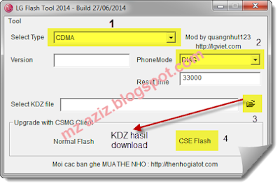 Cara Ampuh Flash Hp LG L4 E440 100% Work