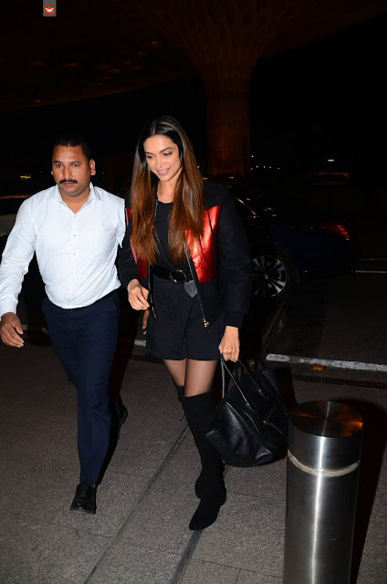 Deepika Padukone snapped At Airport Photos