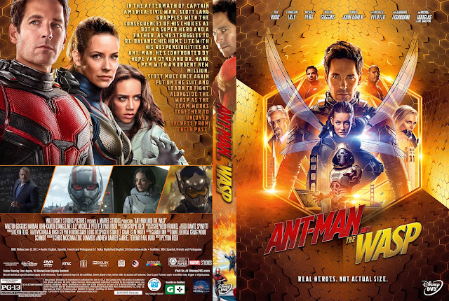 Ant-Man and the Wasp DVD Cover
