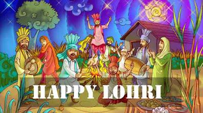 Happy Lohri 2021 status in Punjabi