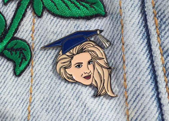 Donna Martin Graduates pin