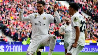 Sergio Ramos sets new season scoring record in derby victory