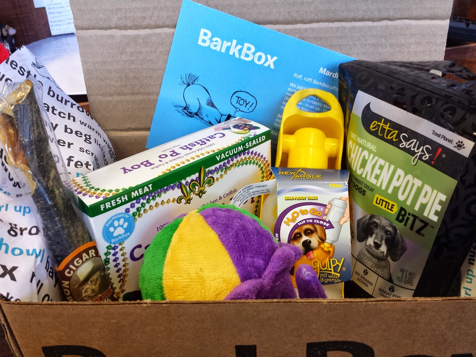 Pint Sized And Simple Barkbox Unboxing February 2015