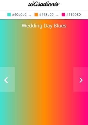 Gradient tool online, Kode warna gradients, Tool gradients color background