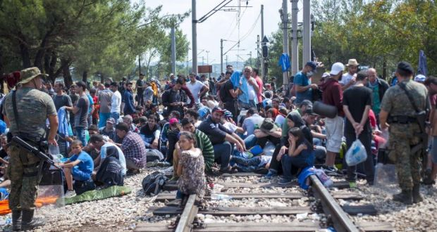 Macedonia and Serbia Get EUR 30 Million Help to Tackle the Refugee Crisis