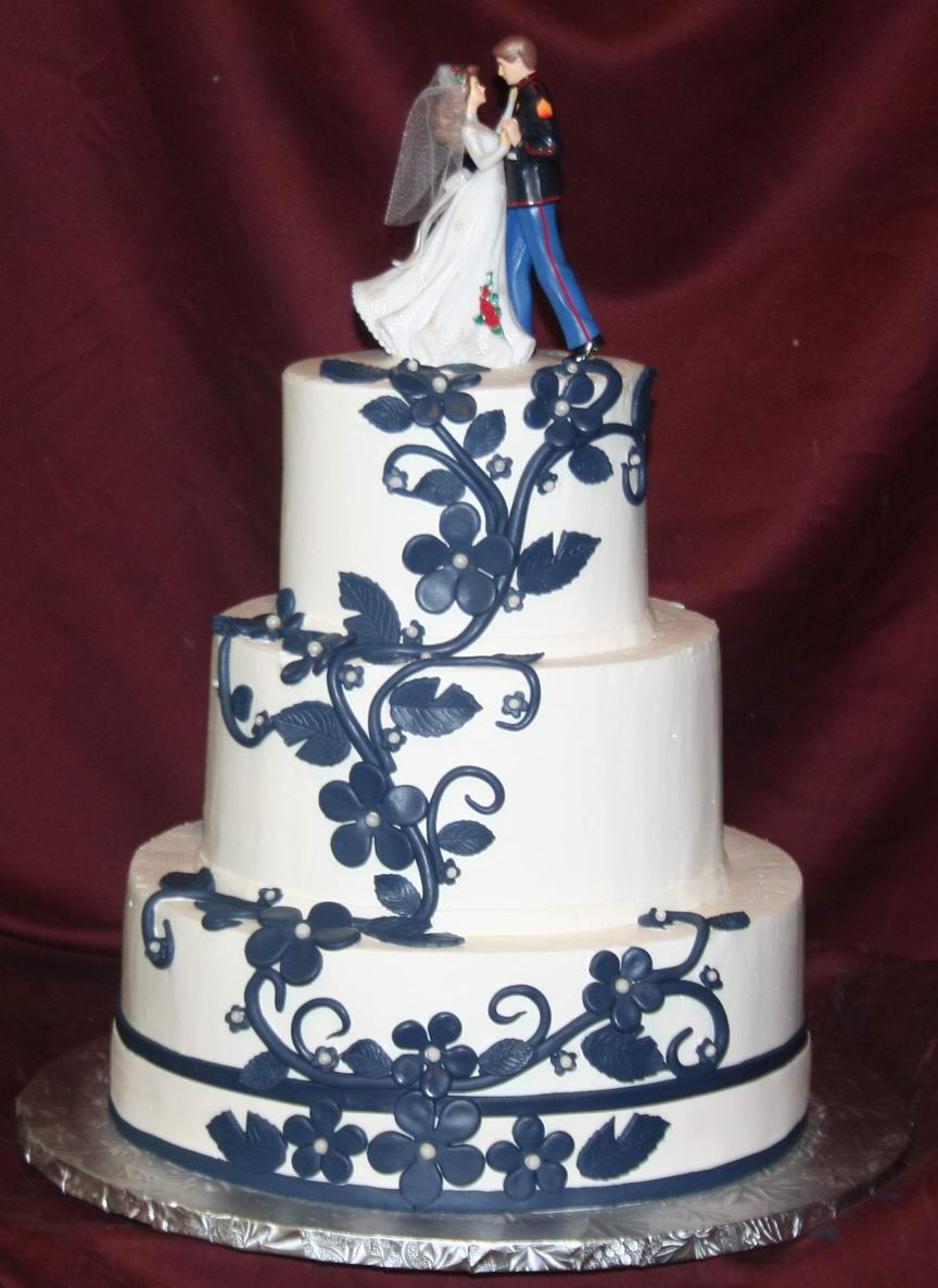 navy blue wedding cakes navy blue wedding decorations living room interior designs 17778